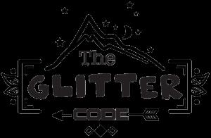 The Glitter Code Logo